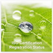 ISO Certification/Registration Status