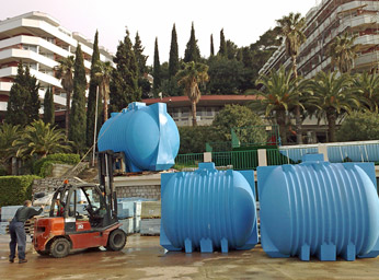 Wastewater Treatment in Resort Hotel